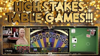 Download HIGH Stakes Table Games Session!!! Video