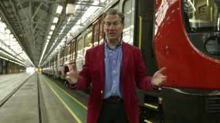 Download Our new hi-tech trains introduced by Michael Portillo - Tube improvements Video