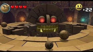Download Pac-Man & the Ghostly Adventures Part 6 - World 2 Ruins - Temple of Slime & Ruined Maze Video