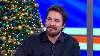 Download Christian Bale's Wife Talked Him into 'American Hustle' Video