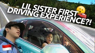 Download LIL SISTER FIRST TIME DRIVING?! | Ranz and Niana Video