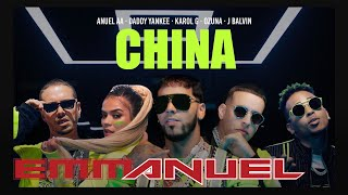 Download Anuel AA, Daddy Yankee, Karol G, Ozuna & J Balvin - China (Video Oficial) Video