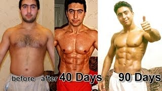 Download My 40 days Crazy Transformation STEROID FREE I Farid Berlin 2 Video
