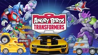 Download Angry Birds Transformers (by Rovio Entertainment Ltd) - iOS / Android - Walkthrough - Part 1 Video