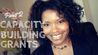 Download Fundraising Ideas For Non-Profit Organizations: Capacity Buildig Grants Video