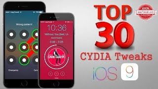 Download TOP 30 Best Cydia Tweaks & Apps For iOS 9 - 9.0.2 With Pangu 9 Jailbreak Video