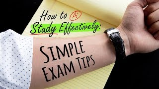 Download HOW TO STUDY EFFECTIVELY: SIMPLE EXAM TIPS | Doctor Mike Video
