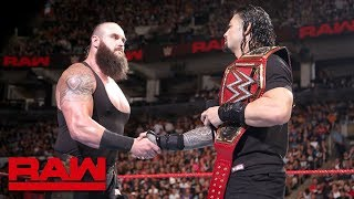Download Roman Reigns and Braun Strowman to battle inside Hell in a Cell: Raw, Aug. 27, 2018 Video