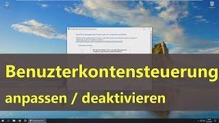 Download [Windows 10] Benutzerkontensteuerung anpassen / deaktivieren Video