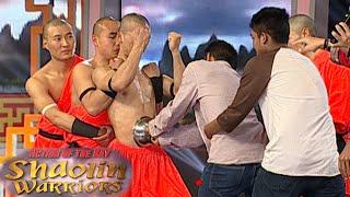 Download Aksi Shaolin Dengan Tenaga Dalam Meletakkan Mangkuk Di Perut [Shaolin Warrior Show] [17 Feb 201] Video