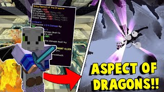 Download How to get the BEST LOOT from the Dragon Boss EVERY TIME! | Minecraft HYPIXEL SKYBLOCK #10 Video