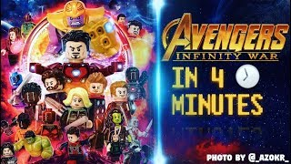Download MARVELS Avengers: Infinity War In 4 Minutes [LEGO STOP MOTION] Video
