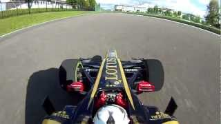 Download RC F1 ONBOARD CAMERA 8 LOTUS E20 on track Video