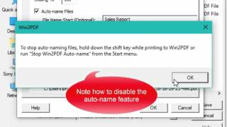Download How to automatically name PDF files using Win2PDF's Auto-Name feature Video