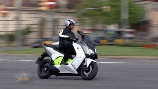 Download BMW C evolution Electric Scooter Video
