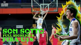 Download U18 FIBA BASKETBALL KAI SOTTO FULL HIGHLIGTHS Video