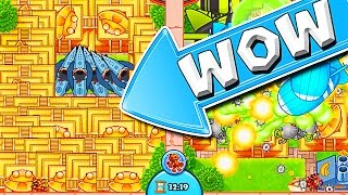 Download THIS WAS INSANE :: Bloons TD Battles :: SO MANY TEMPLES!!!! Video