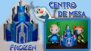 Download Centro de mesa Castelo Frozen Porta treco Video