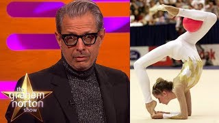 Download Jeff Goldblum's Wife is a CONTORTIONIST!   The Graham Norton Show Video