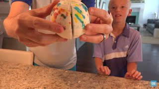 Download What's inside a Giant Jawbreaker? Video