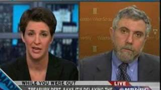 Download Rachel Maddow Gets a Dose of Reality from Paul Krugman on the Economy Video
