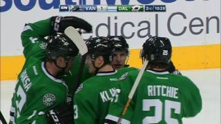 Download Canucks irate as Stars score after icing waved off Video
