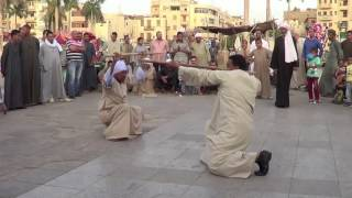Download Abu Hagag Moulid Tahtib in Luxor, Egypt Video