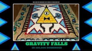 Download Gravity Falls - In Dominoes (100,000 Dominoes!) Video