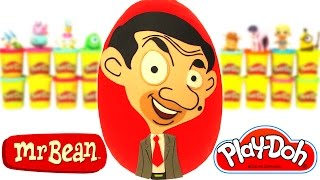 Download Huevo Sorpresa Gigante de Mr. Bean Animado en Español de Plastilina Play Doh Video