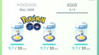 Download Pokemon Go - 9 10km Eggs Hatch ft Jim2k1 Video