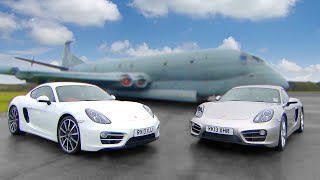 Download Porsche Cayman vs Porsche Cayman - Fifth Gear Video