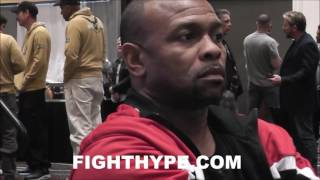 Download ROY JONES JR. CHECKS GOLOVKIN TRAINER, ABEL SANCHEZ; CORRECTS HIM ABOUT MIKE MCCALLUM FIGHT Video