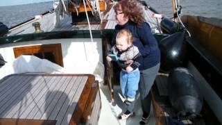 Download Sailing in the Netherlands on flatbottom boat Sulis, April 2013 Video