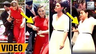 Download Bollywood Actresses Falling Down In Public | Kajol, Sonakshi Sinha, Arpita Khan | LehrenTV Video