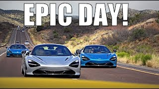 Download DRIVING THE NEW MCLAREN WITH FRIENDS!! Video