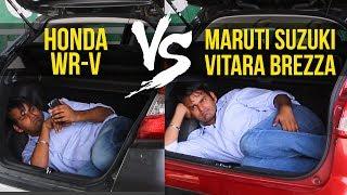 Download Honda WR-V VS Maruti Suzuki Vitara Brezza: Threat To The King? Video