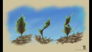 Download Thorn Trees Concept Art Creation Video
