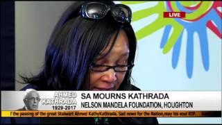 Download Zenani Mandela pays tribute to Ahmed Kathrada Video