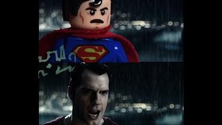 Download Batman v Superman: Dawn Of Justice LEGO Trailer 2 Side by Side w/original Video