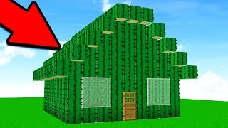 Download TURNING PLAYERS HOUSES INTO CACTI! (Minecraft Trolling) Video