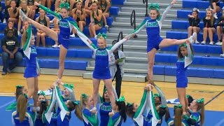 Download Conference 6 Competitive Cheer Semi-finals 2015 at South Lakes Video