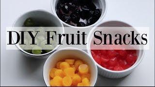 Download DIY Homemade Natural Fruit Snacks / Gummies - 4 Recipes ♡ NaturallyThriftyMom Video