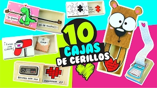Download 10 CARTAS en ️CAJITAS DE CERILLOS para toda ocasión ★ DIY Manualidades fáciles y sencillas ★ ✌😁 Video