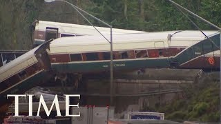 Download Multiple Casualties And Injuries Reported As Amtrak Train Derails Near Seattle | TIME Video