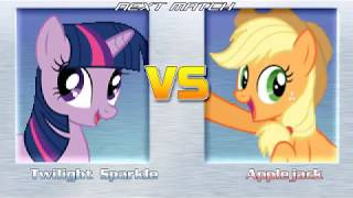 Download Let's Play My Little Pony M.U.G.E.N (Team Versus Turn Mode) EP4 P'Ender,N'Meow Video