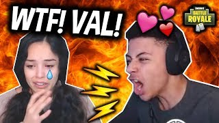 Download MYTH YELLS AT VALKYRAE! Then FLIRTS with her? (Girlfriend?) Fortnite Funny & Savage Moments! Video