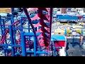 Download Soarin' Eagle at Luna Park in Coney Island POV Video