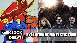 Download Evolution of Fantastic Four in Cartoons, Movies & TV in 8 Minutes (2018) Video