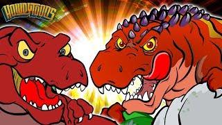 Download T Rex VS Giganotosaurus - Dinosaur Battles - Dinosaur Songs and Cartoons for Kids from Howdytoons Video