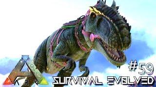 Download ARK: Survival Evolved - TAMING GIGANOTOSAURUS SOLO - Lvl 200 GIGA !!! [Ep 59] (Server Gameplay) Video